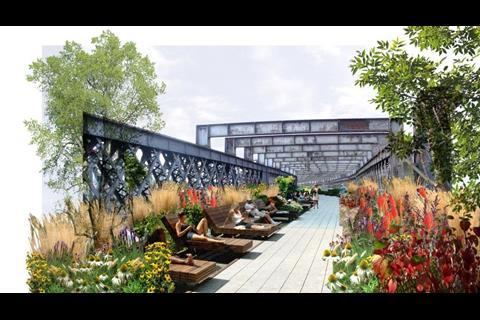 Manchester 'high line' - BDP Architects